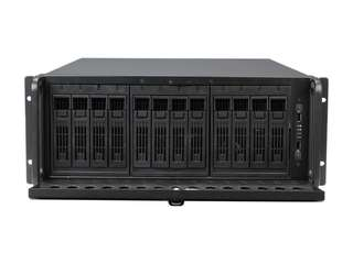 Rosewill RSV-L4412 Server Case Chassis - 4U Rackmount, 5 Cooling Fans Included, 12 SATA / SAS Hot-swap Drives