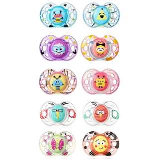 Tommee Tippee 6-18m CTN Fun Style Soothers (2 Pcs)