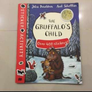 $6.90=>$5 Gruffalo's child workbook