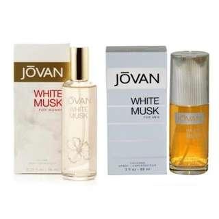 Jovan White Musk Set. Men & Women (100% Authentic)