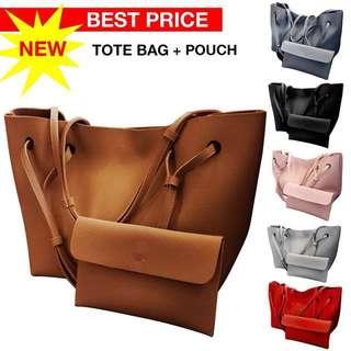 2 In 1 Korean Shoulder bag set