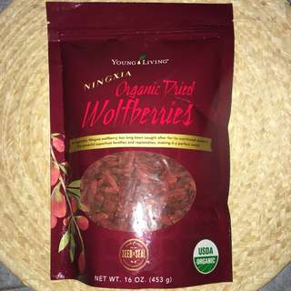 Young Living Organic Dried Wolfberries