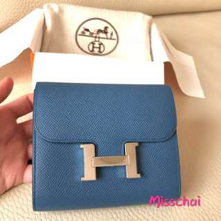 Hermes Constance Short Wallet