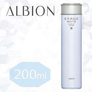 Albion exage white - white up lotion II (brand new)