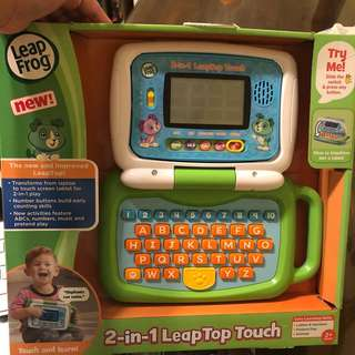 Leapfrog leaptop laptop 2-in-1 touch green