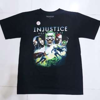 New Authentic Justice League Superheroes Injustice Top Shirt