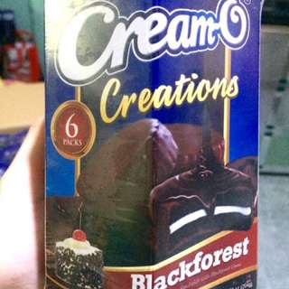 Cream-o Black Forest limited edition