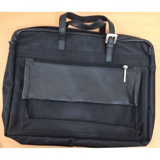 bag - briefcase for men, more than A4 size