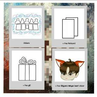 [PO] KPOP STICKERS