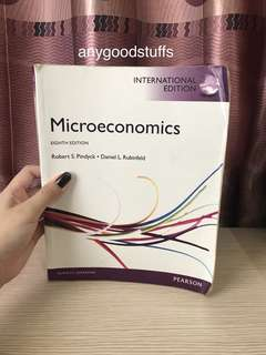 Buku Microeconomics 8th edition Pearson