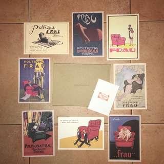 Poltrona Frau - Postcard Set  (Art Deco)