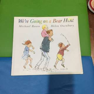 Pre-loved we are going on a bear hunt book