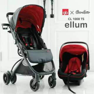 Stroller Cocolatte CL 1008TS Include Carrier Travelling kereta bayi