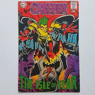 DC Comics Beware the Creeper 3 Fine + Condition Silver Age
