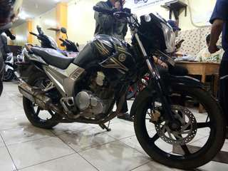Yamaha new scorpio z cw th 2011