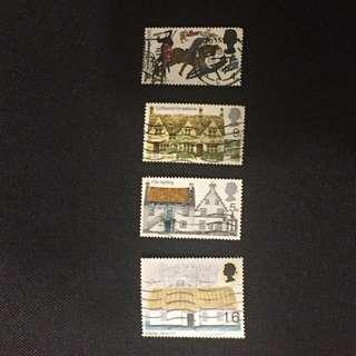 UK Britain stamps