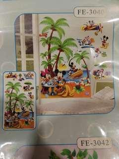 3d Disney wall stickers