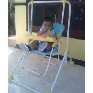 Swing Pliko 206 Ayunan Multifungsi Baby Chair Dudukan santai Bayi