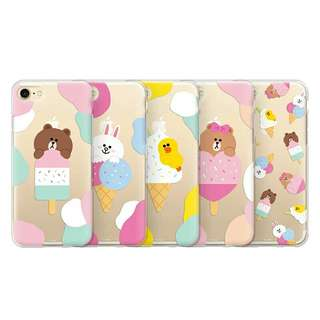 Line Friend清新feel iPhone case