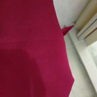 Maroon red uniform fabric