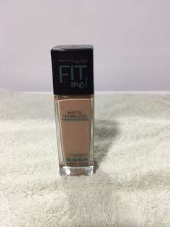 222 Maybelline Fit Me Foundation