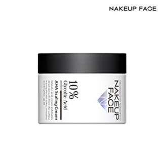 (PO) NAKEUP FACE - 10% AHA Scaling Cream