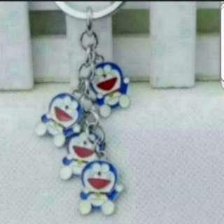 In Stock Doraemon In A Bunch Keychain