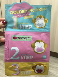 Holika Holika Glamour Lip 3 step kit