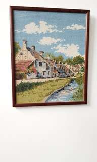 Vintage Tapestry art work from England