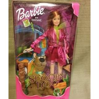 🚚 Barbie as Daphne in Scooby Doo. Mattell 56887