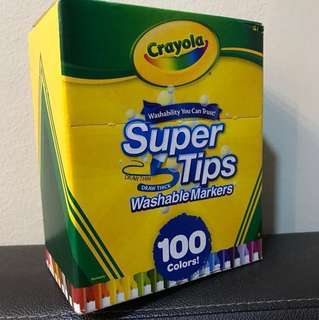 Crayola Supertips Markers 100