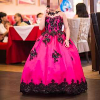Gown for rent for 7th bday