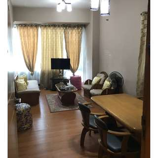 Studio Furnished For Rent in One Central Park Eastwood City