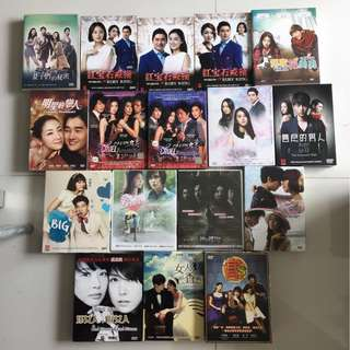 Original Korean Drama DVD Set - many titles selling $12 per title