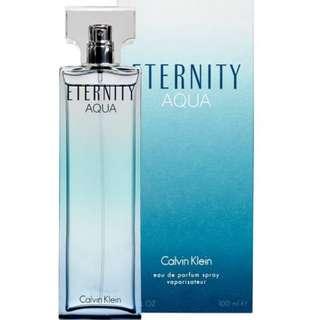 Calvin Klein Eternity Aqua (women's fragrance) 100ml