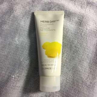 🍋 Herb Day 365 Cleansing Foam Mousse Nettoyante Lemon Citron