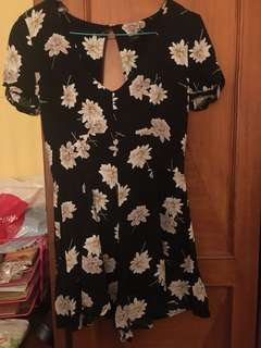 Floral dress new look