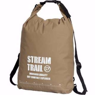 Waterproof Soft Bag 6L Size S - Beige Japanese Brand