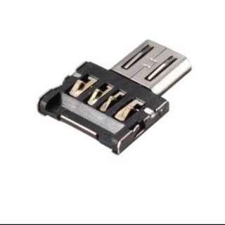 Micro USB Male to USB Female OTG Adapter Converter For Xiaomi LG Huawei Samsung Meizu