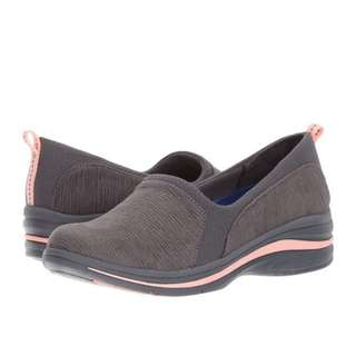Dr Scholl's Windswept | Grey Hatch Print | US Women's Size 6,6.5,9.5,11 | Sneaker Loafer Shoe