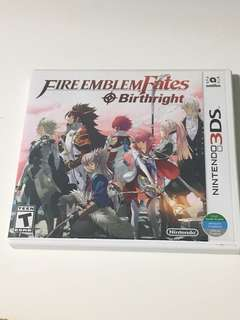 3DS Fire Emblem Birthright