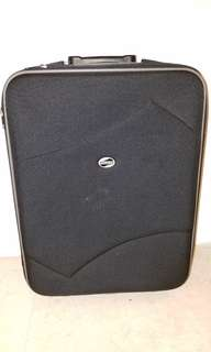 American Tourister Black carry-on suitcase - handle on one side broken