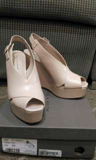 Pastel colored Wedge Sandals