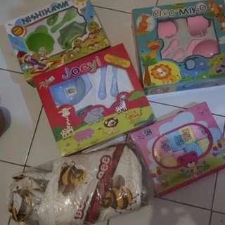 3feeding Set,Celana Pop,Dan Tas Botol, Harga SDH Berikut Ongkir Jabodetabek.