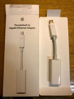 MacBook Thunderbolt to Gigabit Ethernet Adapter