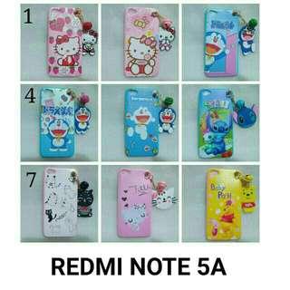 Redmi note 5a case lonceng lucu