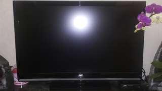 "JVC LCD TV LT-42EX18SAT/MAT 42""電視(2008年購入)&VDIGI CP857S 1080P HD Recei機頂盒(2017年購入)"