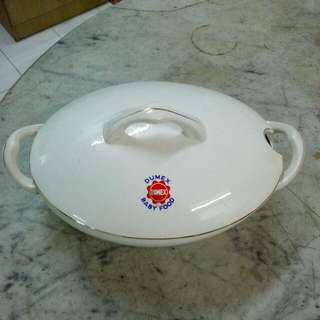 Dumex Porcelain Tureen Casserole Vintage 6