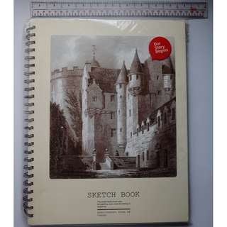 Sketchbook / sketchpad (plain)