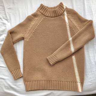 Zara camel sweater